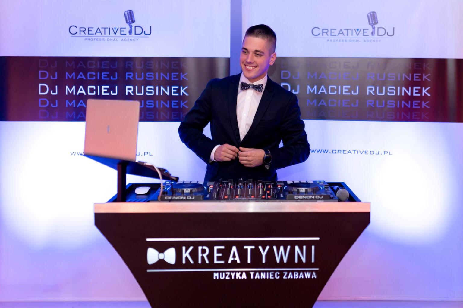 Dj na wesele Maciej Rusinek